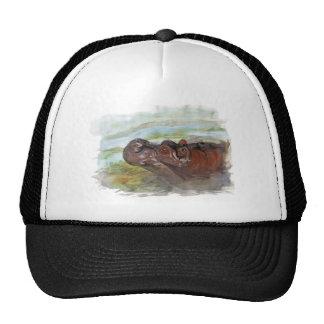 hippo jpg mesh hat