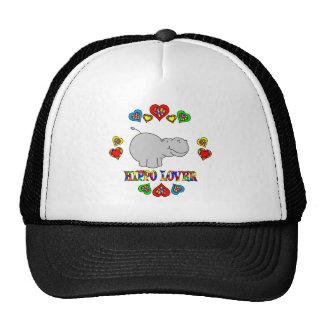 Hippo Lover Trucker Hat