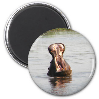 Hippo mouth (round or square magnet) 6 cm round magnet