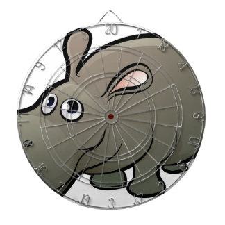 Hippo Safari Animals Cartoon Character Dartboard