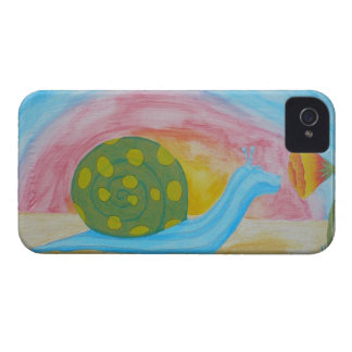 Hippo-Snail Blackberry Case-Mate Case iPhone 4 Case-Mate Cases