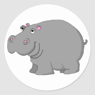 hippo stickers