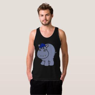 Hippo Tank Mens (Black)