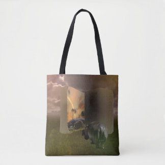 Hippo, The Untold Love Story, Tote Bag