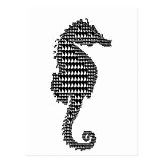 hippocampus postcard
