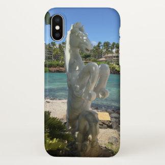 Hippocampus (Sea-Horse) Statue, Waikoloa, Hawaii iPhone X Case