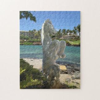 Hippocampus (Sea-Horse) Statue, Waikoloa, Hawaii Jigsaw Puzzle