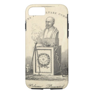 Hippocrates on Pedestal iPhone 8/7 Case