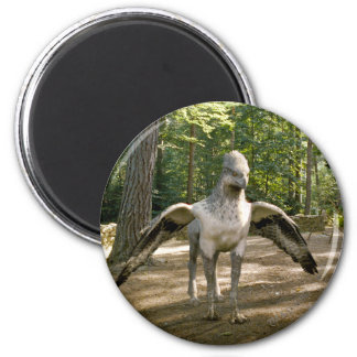 Hippogriff 6 Cm Round Magnet