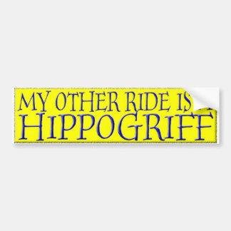 HIPPOGRIFF BUMPER STICKER