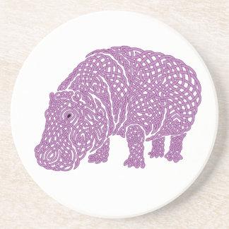 Hippoknotamus Coaster