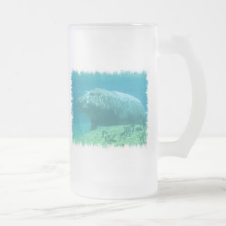 Hippopatumus Habitat Frosted Beer Mug