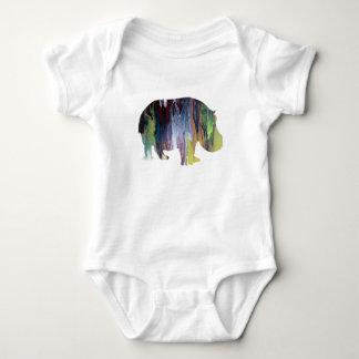 Hippopotamus Baby Bodysuit
