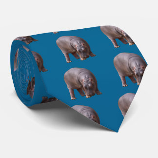 Hippopotamus (child) tie