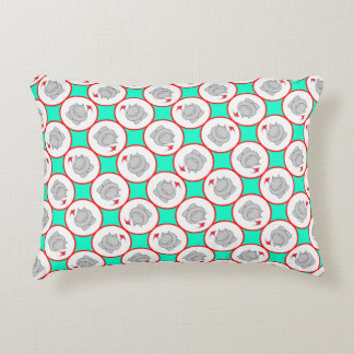 Hippopotamus Christmas Decorative Cushion