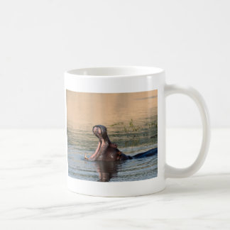 hippopotamus coffee mug