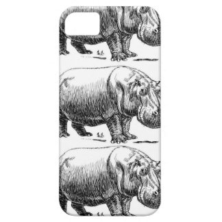 hippopotamus gold barely there iPhone 5 case