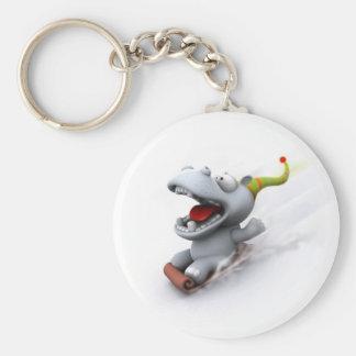 Hippopotamus Key Ring