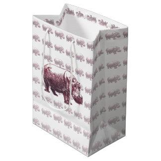 Hippopotamus Medium Gift Bag