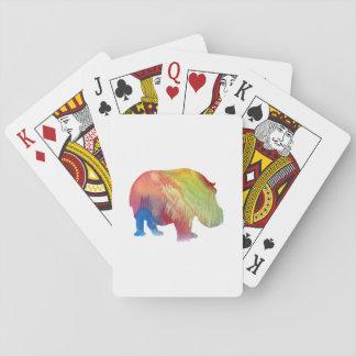 Hippopotamus Poker Deck