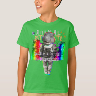 Hippopotamus Space Mission Astronaut T-Shirt