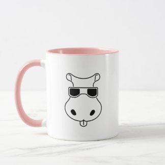 Hippopotamus Sunglasses Love Hippos Fiona Baby Mug