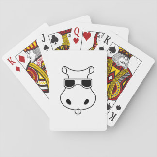 Hippopotamus Sunglasses Love Hippos Fiona Baby Playing Cards