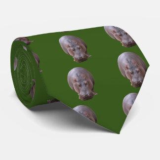 Hippopotamus Tie