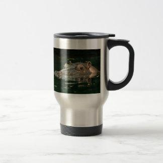 Hippopotamus Travel Mug
