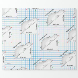 HIPPOPOTENUSE by Sandra Boynton Wrapping Paper