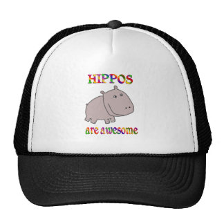 Hippos are Awesome Trucker Hat