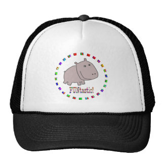Hippos are Funtastic Trucker Hat