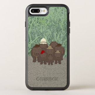 Hippos Custom OtterBox Apple iPhone 8 Plus/7 Plus