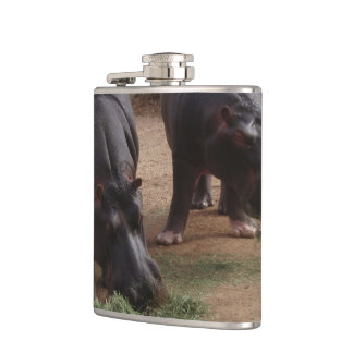 Hippos Hip Flask