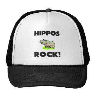 Hippos Rock Mesh Hat