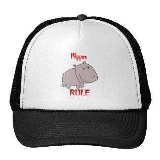 Hippos Rule Hats