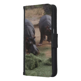 Hippos Samsung Galaxy S6 Wallet Case