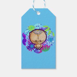 Hippy Bear Gift Tags
