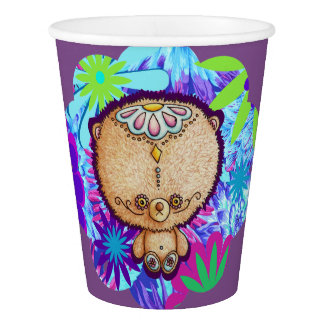 Hippy Bear Paper Cup
