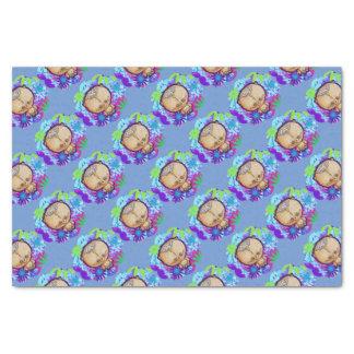 Hippy Bear Tissue Paper