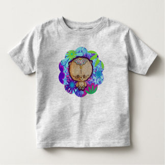 Hippy Bear Toddler T-Shirt