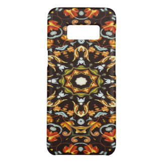 Hippy Chic Zendala orange leaves floral mandala Case-Mate Samsung Galaxy S8 Case