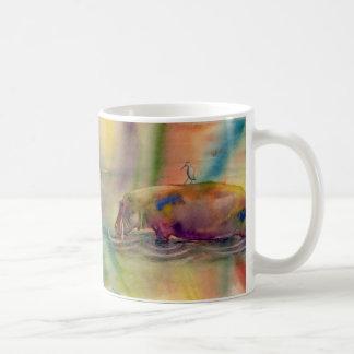 Hippy Dippy, Watercolor Art Mug