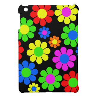 Hippy Flower Collage Cover For The iPad Mini