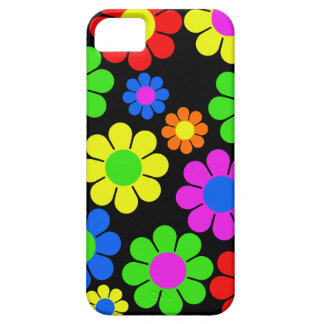 Hippy Flower Collage iPhone 5 Cases