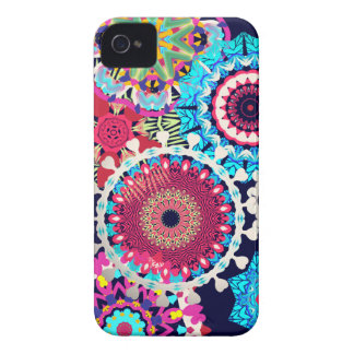 Hippy flowers iphone covers Case-Mate iPhone 4 case