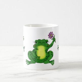 """Hippy Frog"" - Mug"