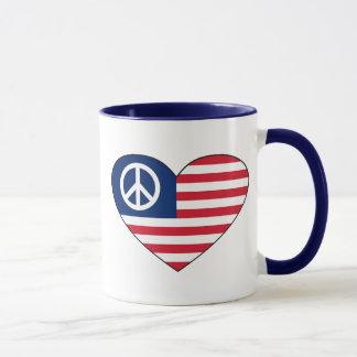 Hippy Heart Mug