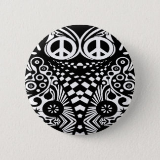Hippy Heaven 6 Cm Round Badge