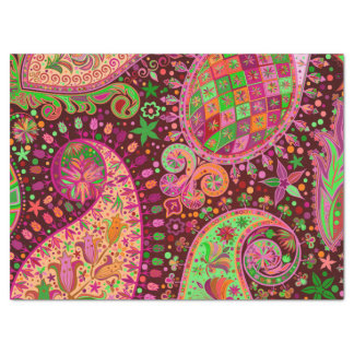 Hippy Peace Retro Hand Colorful Boho Tissue Paper